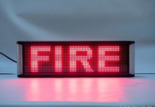 Emergency Alert Sign
