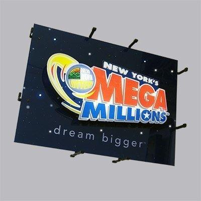 NY Mega Millions Dream Big Flashing LED