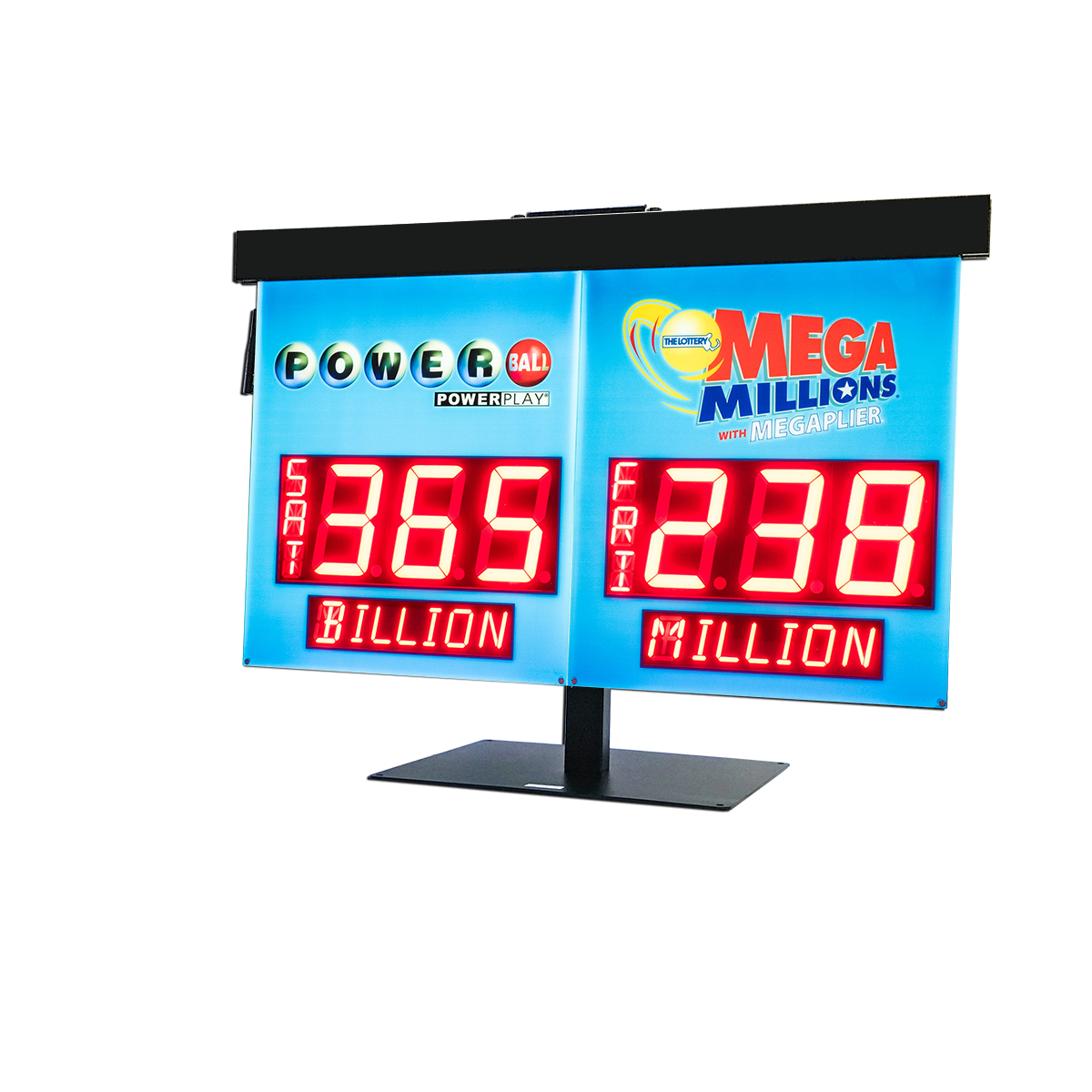 230008 Lotto Ticket Lucky Multimillionaire Exclusive Display LED Light Sign